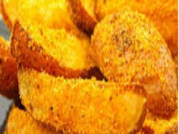 Cartofi în crusta de malai