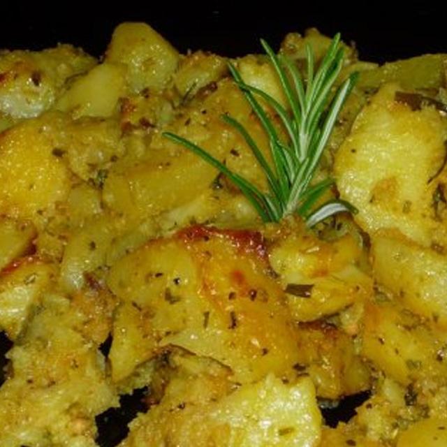 Cartofi cu usturoi