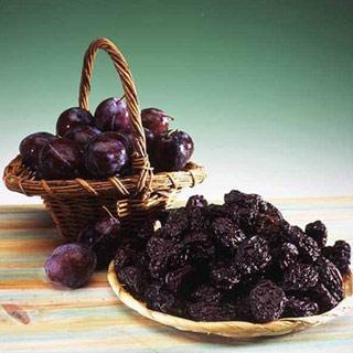 Mâncare de prune uscate