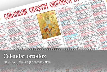 Calendarul otodox