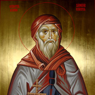 Sfantul Dionisie Exiguul si inceputul anului bisericesc