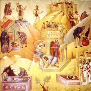 Traditii si obiceiuri la Taierea Capului Sfântului Ioan Botezatorul